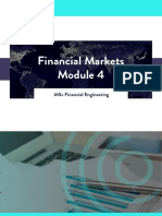 WQU Financial Markets Module 4 Compiled Content