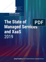 The State of Managed Services & XaaS 2019