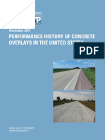 2014 [NCPTC] Performance History of Concrete Overlays in the United States