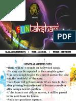 Funtakshari Competition 2019