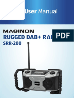 MAGINON DAB+ radio SRR-200 User Manual