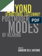 Beyond Structural Listening PDF