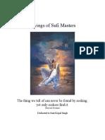 Sufi Masters tells
