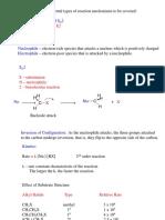 E1 and E2 Reactions