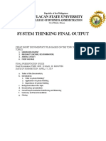 System Thinking Iso Obe Syllabus