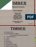 Timber Ppt