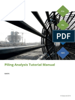 Piling Suite Tutorial Manual 2015