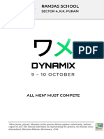 Dynamix 2018 Invite