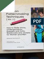 Fashion Patternmaking Techniques Volume 2