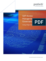 SAP Access Management