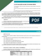 Contribuições Do Dia d de Discussão Da Bncc Do Ensino Médio