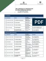 Platni Sistemi Participants List
