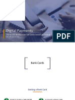 Step-By-step Presentation on Digital Payments