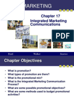 Marketing - Chapter 17-IMC
