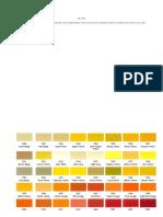 Qpf Ral Chart