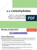 3.3 Carbohydrates LP