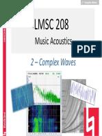 PMA LMSC208 2 Complex Waves