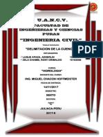 HIDROLOGIA-DELIMITACION DE CUENCA.pdf