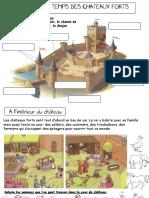 Au Temps Des Chateaux Forts