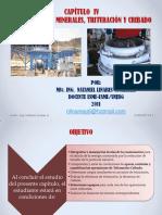 PPT capitulo IV-CONMINUCION DE MINERALES, TRITURACIÓN Y CRIBADO.pdf