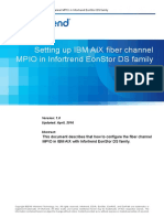 Setting Up IBM AIX Fiber Channel MPIO in Infortrend EonStor DS Family