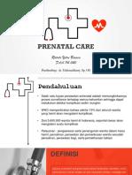 Refrat ANC Prenatal care