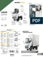 Ficha Tecnica Camion NHR