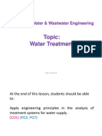 Water Treatment Part 1