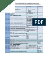Susunan Acara Seminar Kespro 090814