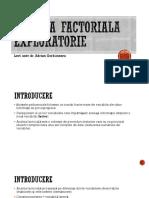 Analiza factoriala exploratorie