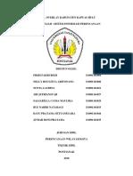 Laporan Hasil Overlay Kabupaten Kapuas Hulu
