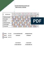 Jadwal Jaga Dokter Internsip Bangsal - April 2019 (Plan B)