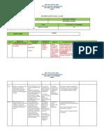 Planificación Clase a Clase 2019 Segundo Nivel Medio