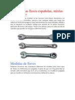 Tipos de Llaves Mecanicas