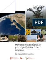 Monitoreo Biodiversidad