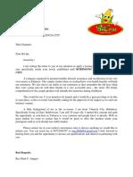 BitCorn Letter of Intent