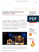 Spanish Christmas Lottery - Learn Spanish by Listening