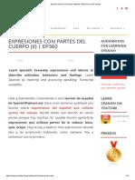 Spanish Idioms to Describe Attitudes, Behavious and Feelings