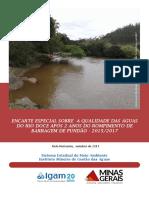 Encarte Qualidade Da Gua Do Rio Doce - Dois Anos Apos Rompimento de Barragem de Fundao-1