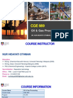 Chapter 1 - Oil & Gas Processing
