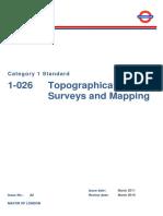 Topographical Surveys