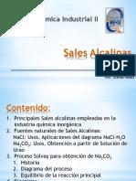 SALES ALCALINAS