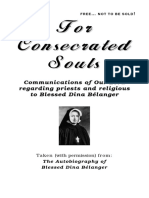 For Consecrated Souls