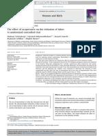 Acupuncture and Acupressure in Labor