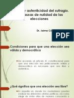 Presentación Dr. Jaime Cárdenas