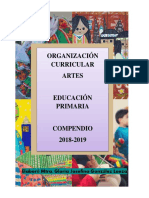 Compendio 2018-2019. Dosificación de Los Aprendizajes Espera
