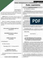 Ley del Programa Voluntariado de Rescate, Promoción y Fomento del Sector de las Comunicaciones
