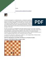 Dama Contra Peon - Articulo de Ricardo Ramirez Aranda