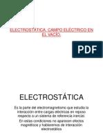 Electrostatica Al Vacio
