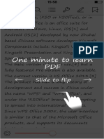 PDF Guide WPS Office - iPhone